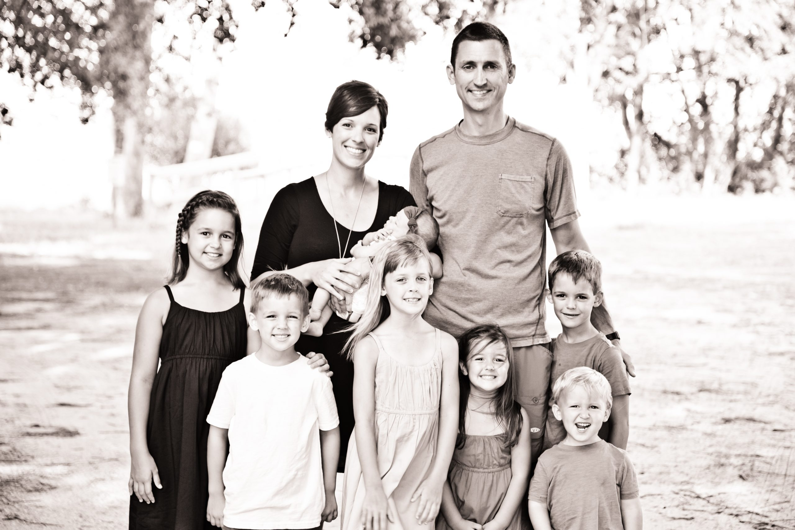 Shay Gregorie, Associate Pastor and Family