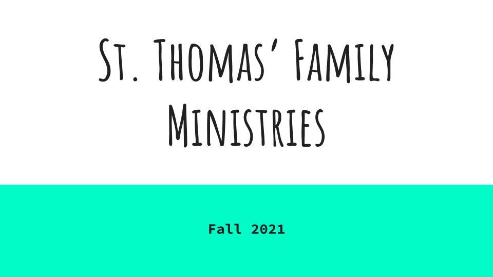 St. Thomas' Family Ministries
